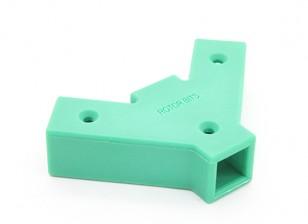 45度Yコネクタ2は、両面RotorBits(グリーン)
