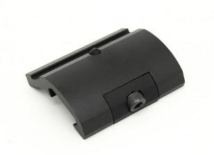 要素EX289ギアセクタースタイルの懐中電灯は、M951 M961(ブラック)用のマウント