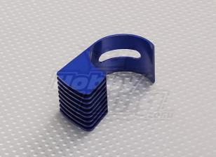 ブルーアルミモーターヒートシンク540/550/560(36ミリメートル)