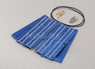 ブルーアルミバッテリー水冷ボード(2個)