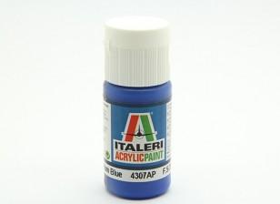 イタレリアクリルペイント - フラットミディアムブルー