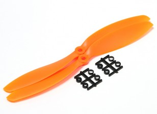 Hobbyking™プロペラ9x4.7オレンジ(CCW)(2個)