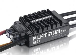 Hobbywingプラチナ100A V3ブラシレスESCワット/ 10A BEC