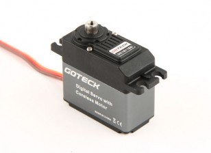 Goteck DC1611SデジタルMGハイトルクSTDサーボ22キロ/ 0.14sec / 53グラム