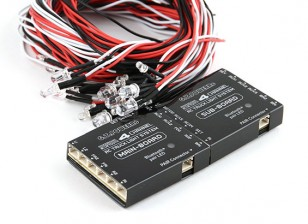Bluetoothの4チャンネルRCトラック照明システム