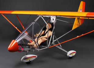 Aerosport 103 GP / EPスケール超軽量バルサ2390ミリメートル(ARF)