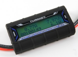 Turnigy 180Aワットメーターとパワーアナライザ