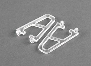 透明FPV250 V4ゴーストEdition用のランディングギア(2個)