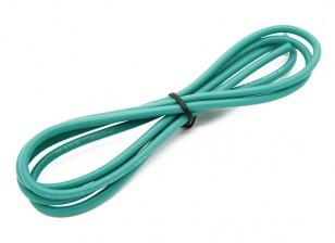 Turnigy高品質16AWGシリコンワイヤー1メートル(緑)