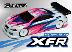 BLITZ XFRレースボディ(190ミリメートル)(0.8ミリメートル)4028 EFRA