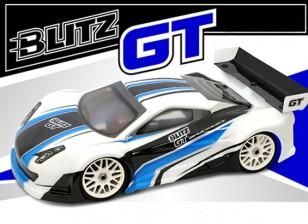 ウィング付きBLITZ 1/8 GT E / Pボディシェル(1.2ミリメートル)