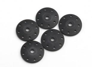 BSR Beserker 1/8トラギー - ショックピストン1.5ミリメートル穴(ブラック)(クリニーク)814151