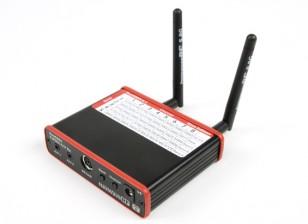 ImmersionRC DUO5800 v4.1の人種版40CH 5.8GHz帯Racebandダイバーシティ受信機、デュアル出力