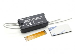 Walkeraのランナー250  -  DEVO-RX710レシーバー