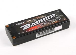 バッシャー5600mAh 2S2P 60CハードケースLiHVパック