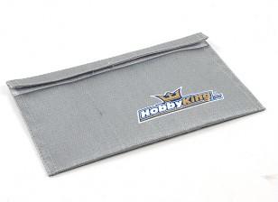 HobbyKing®™防炎LiPolyバッテリーバッグ(フラット)(230x140mm)(1個)