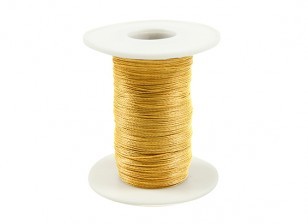 ケブラー糸0.4ミリメートル径イエロー