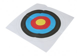 ロングショットポーツマスラウンドフェイスペーパーターゲット(1 /パック)60×60センチメートル