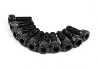 金属ソケットヘッド機械六角ネジM5x14-10pcs /セット