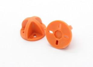 9ミリメートル/ 12ミリメートルのためのダイヤトーンランディングギア(オレンジ)(2個)