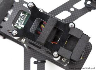 Lumenier QAV250カーボンファイバー振動減衰カメラプレート