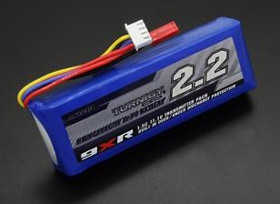 Turnigy 9XR安全保護11.1V(3S)2200mAhの1.5Cトランスミッタパック