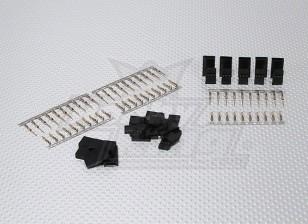 JST-SHサーボプラグセット(双葉)ゴールドメッキ(10pairs /セット)
