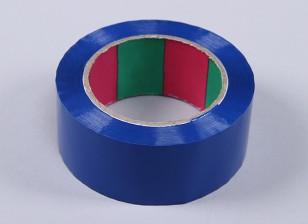 45micのx 45ミリメートルのx 100メートル(ワイド - ブルー)ウィングテープ