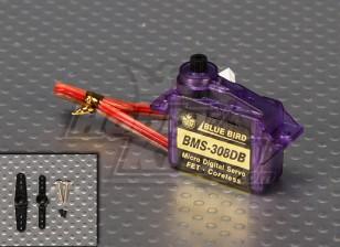 BMS-308DBデジタルデュアルボールはマイクロサーボ1.2キロ/ 0.10sec / 6グラムベアリング