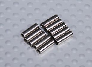 プル/プル用被覆銅圧着チューブワイヤー(10PC)