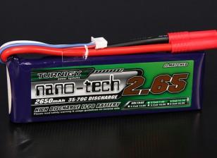 Turnigyナノテクノロジー2650mah 3S 35〜70Cリポパック