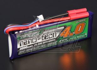 Turnigyナノテクノロジー4000mah 2S 25〜50Cリポパック