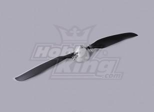折りたたみプロペラW /合金ハブ45ミリメートル/ 3ミリメートルシャフト12X6(1個)