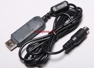ホビーキング2.4GHzの6CHのTx USBケーブル