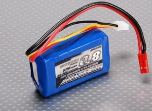 Turnigy 800mAhの2S 20Cリポパック(Parkzone互換性PKZ1032)