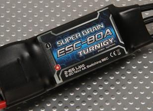 Turnigyスーパーブレイン80AブラシレスESC