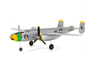 "H-King Micro B-25J Mitchell ""Lady Lil"" Gunship 550mm (21.6"") PNF"