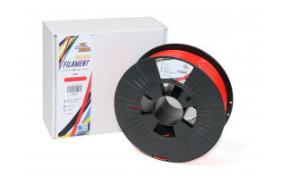 HobbyKing Premium 3D Printer Filament 1.75mm PETG 1KG Spool (Red)