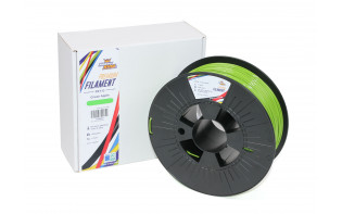 HobbyKing Premium 3D Printer Filament 1.75mm PETG 1KG Spool (Green Apple)
