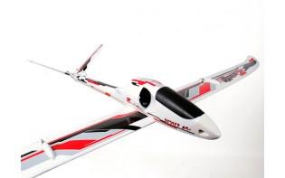 Durafly™ゼファーV-70高性能70ミリメートルEDF V-テールグライダーの1533ミリメートル(PNF)