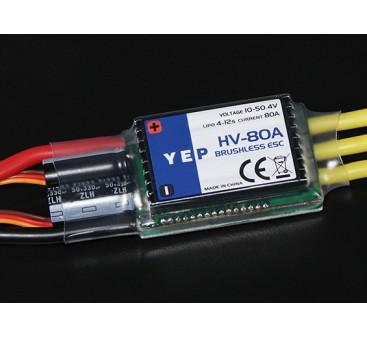 HobbyKing YEP 80A HV(4〜12S)ブラシレススピードコントローラー(OPTO)
