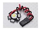 アルミヒートシンク付きスーパーブライト3Watt白色LEDランプ