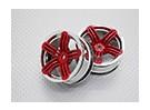 1:10スケール高品質ツーリング/ドリフトホイールRCカー12ミリメートル六角(2PC)CR-RS6R