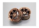 1:10スケール高品質ツーリング/ドリフトホイールRCカー12ミリメートル六角(2PC)CR-MP4G