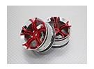 1:10スケール高品質ツーリング/ドリフトホイールRCカー12ミリメートル六角(2PC)CR-MP4R