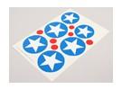 国立空軍記章デカールシートを拡大縮小 -  USA(タイプB)