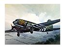 イタレリ1/72スケールC-47スカイトレインプラスチックモデルキット