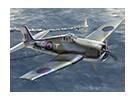 イタレリ1/72 F6F-3月5日ヘルキャットプラスチックモデルキット