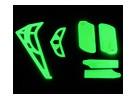 HK-450光るテールとライトセット(部品番号のHS1275を合わせます)
