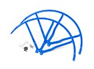 10インチのプラスチック製ユニバーサルマルチロータープロペラガード - ブルー(2SET)